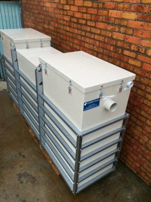 3000 above ground grease trap